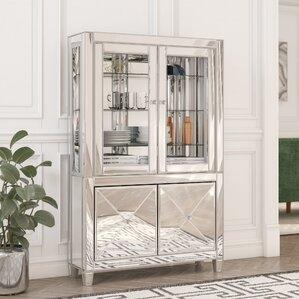 Adriana Lighted Curio Cabinet by Willa Arlo Interiors