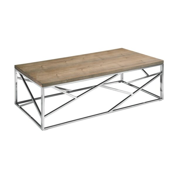 Clemente Coffee Table with Tray Top by Brayden Studio