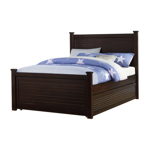 Latonya Panel Bed with Trundle by Harriet Bee
