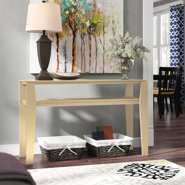 New City Console Table by Ebern Designs