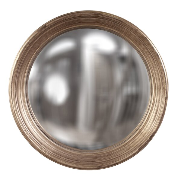 Round Convex Accent Mirror by Everly Quinn