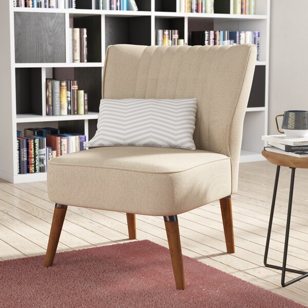 Schiavone Slipper Chair by Wrought Studio