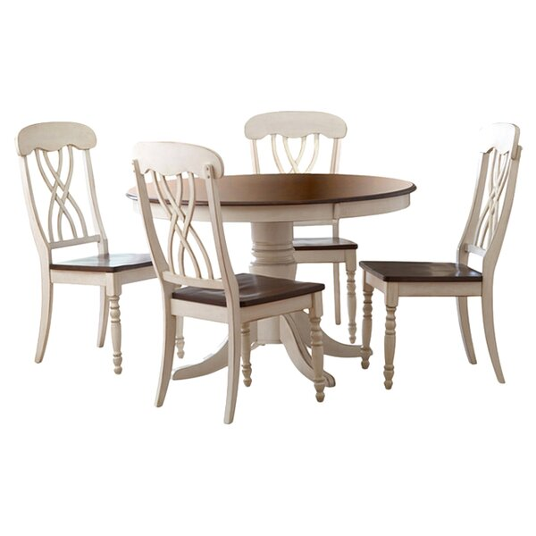 New Design Danise 5 Piece Dining Set By Charlton Home Sale