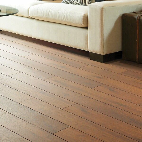 Palisades 5x 48 x 12mm Hickory Laminate Flooring in Fieldston by Shaw Floors