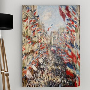'The Museum at Le Havre' by Claude Monet Painting Print on Wrapped Canvas by Wexford Home