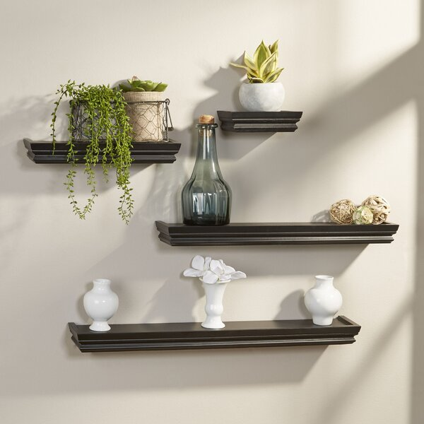 4 Piece Wall Shelf Set by Andover Mills