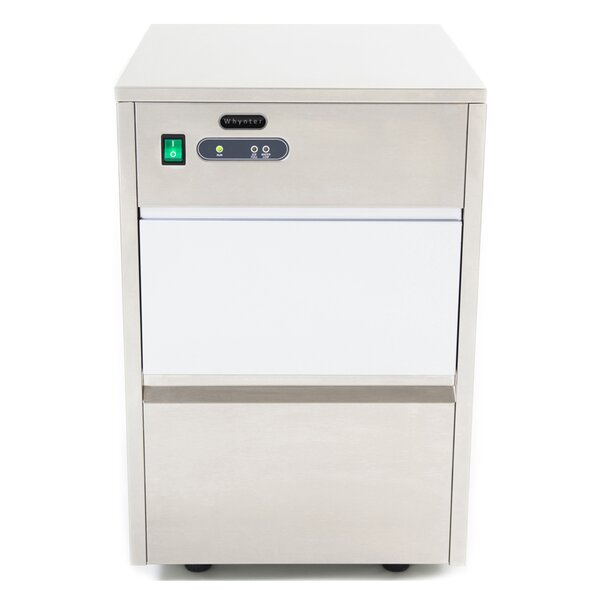 44 lb. Daily Production Freestanding Ice Maker by Whynter