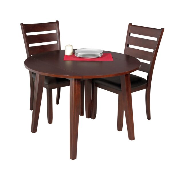 Dinh 3 Piece Drop Leaf Solid Wood Dining Set By Latitude Run Best Design