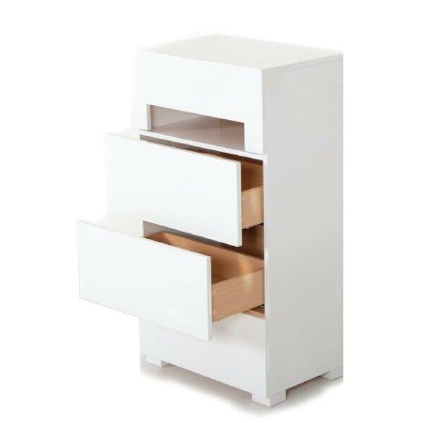 Stiffler 4 Drawer Standard Dresser by Wade Logan