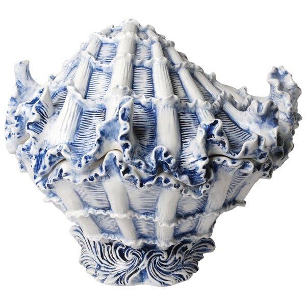 Capri Shell 2 qt. Cookie Jar by Kaldun & Bogle