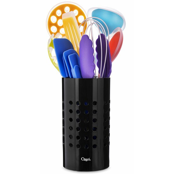 11 Piece All-In-One Silicone Utensil Set by Ozeri