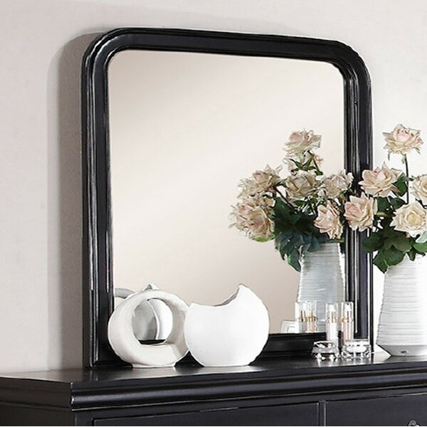 Rizer Polyresin Accent Mirror by Charlton Home