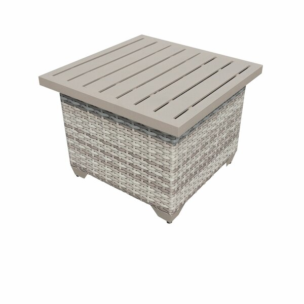 Ansonia Side Table by Rosecliff Heights