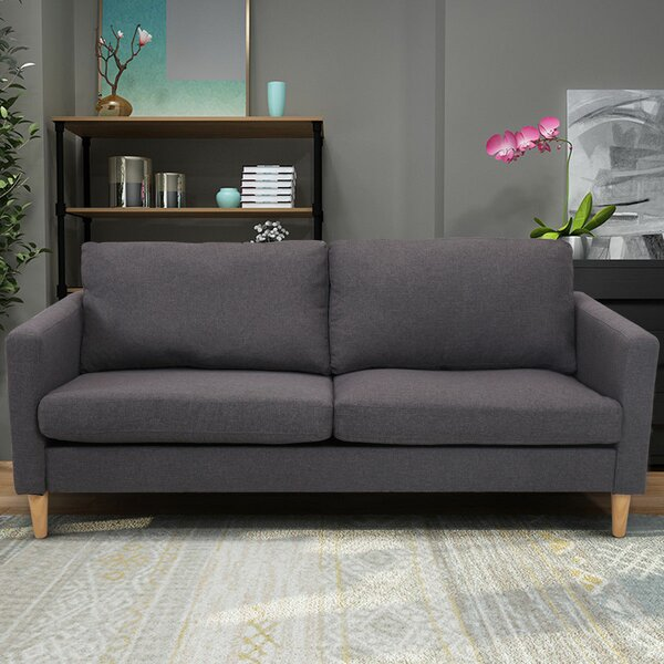 Cool Teegan Modern Loveseat by Wrought Studio by Wrought Studio
