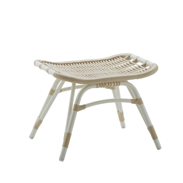 Hollingsworth Outdoor Ottoman by Bayou Breeze