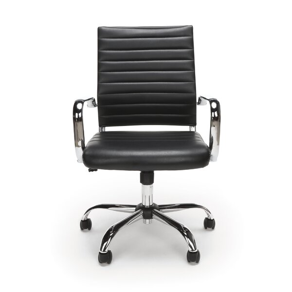 Twelveoak Ribbed Executive Chair by Orren Ellis