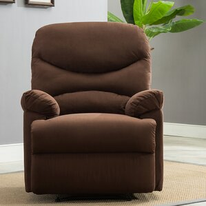 Microfiber Manual Lift Assist Recliner & Microfiber Recliners Youu0027ll Love | Wayfair islam-shia.org