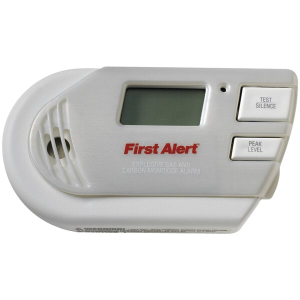 3-in-1 Explosive Gas & Carbon Monoxide Alarm by First Alert