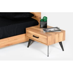 Banerjee 1 Drawer Nightstand by Union Rustic