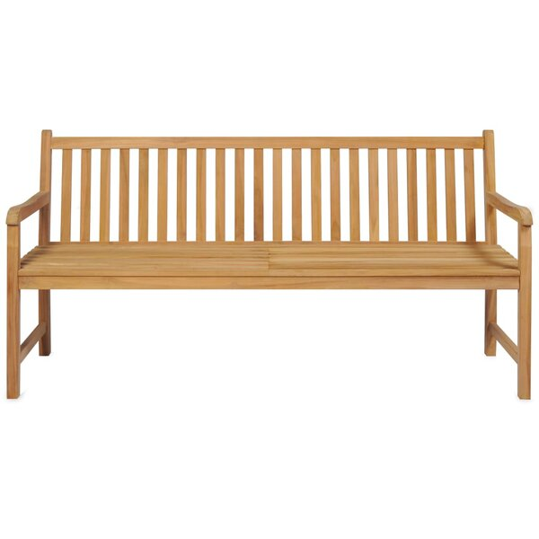 Onsted Teak Garden Bench by East Urban Home