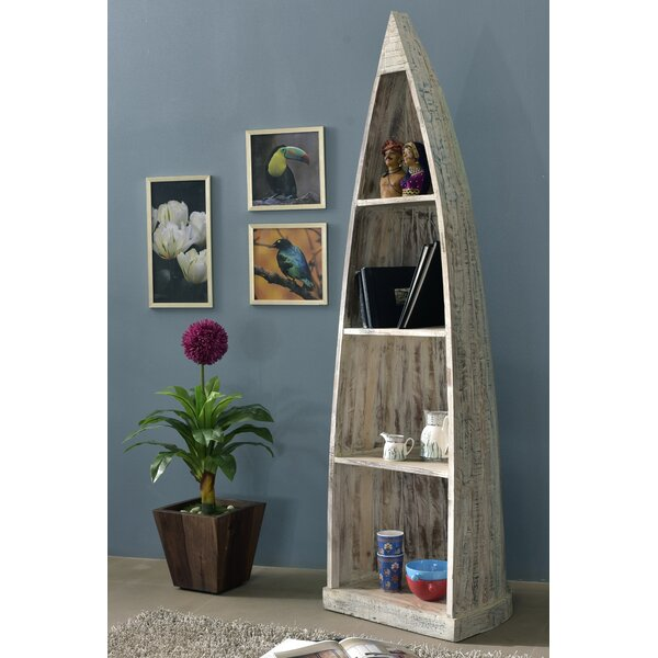 Tiburon Nautical Corner Unit Bookcase by Breakwater Bay