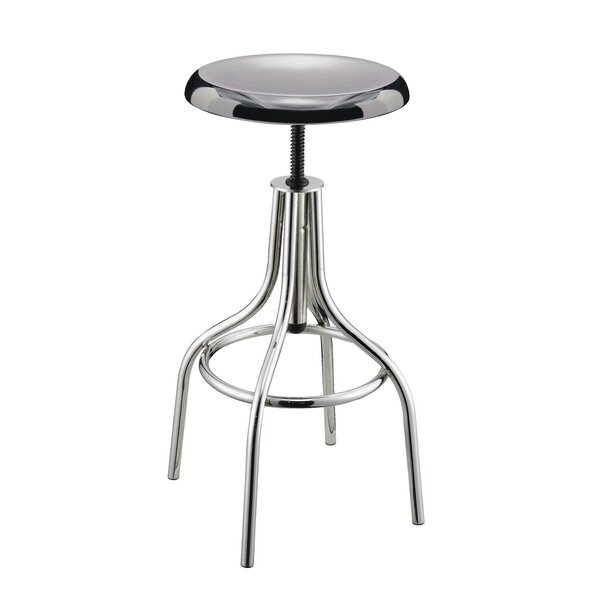 Groce Adjustable Height Bar Stool by Ebern Designs