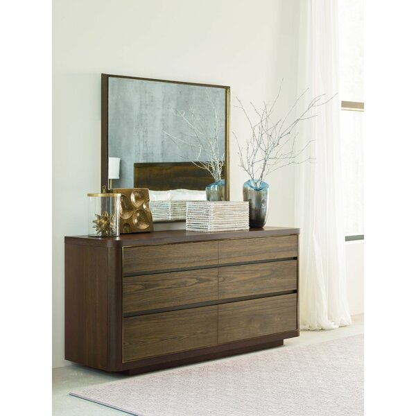 Magdalena 6 Drawer Double Dresser by Foundry Select