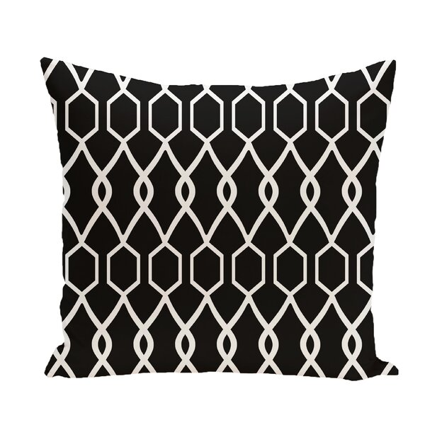 Bronstein Geometric Print Throw Pillow by Ivy Bronx