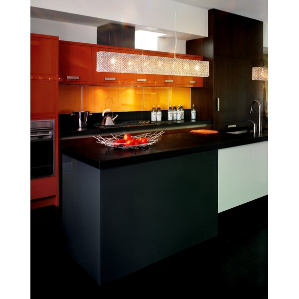 Matrix 8-Light Kitchen Island Pendant by Schonbek