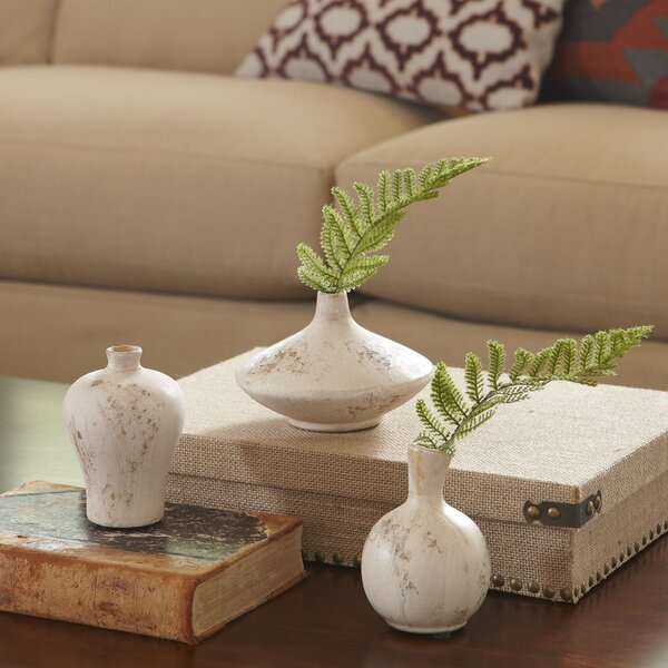 Kaiden 3 Piece Vase Set by Langley Street