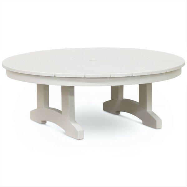 Osborn Plastic/Resin Coffee Table by August Grove