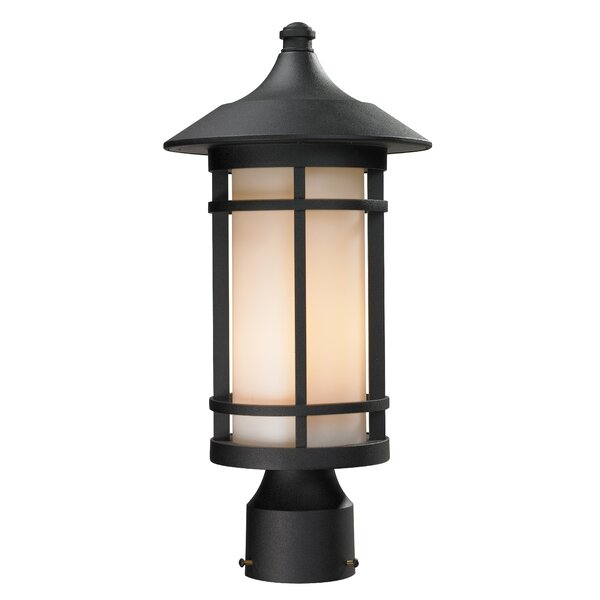 McKew Outdoor 1-Light Lantern Head by Bloomsbury Market