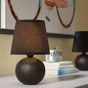 Mini Ceramic Globe Table Lamp (Set of 2)