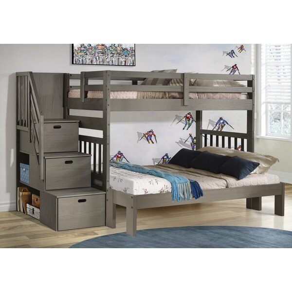 Jenafir Twin over Full Bunk Bed by Winston Porter