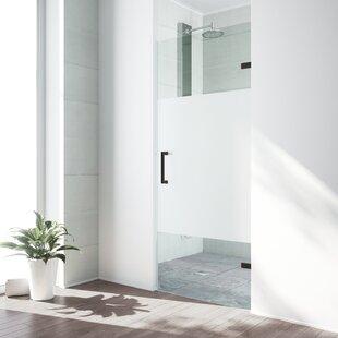 Order SoHo 28 x 70.63 Hinged Frameless Shower Door ByVIGO
