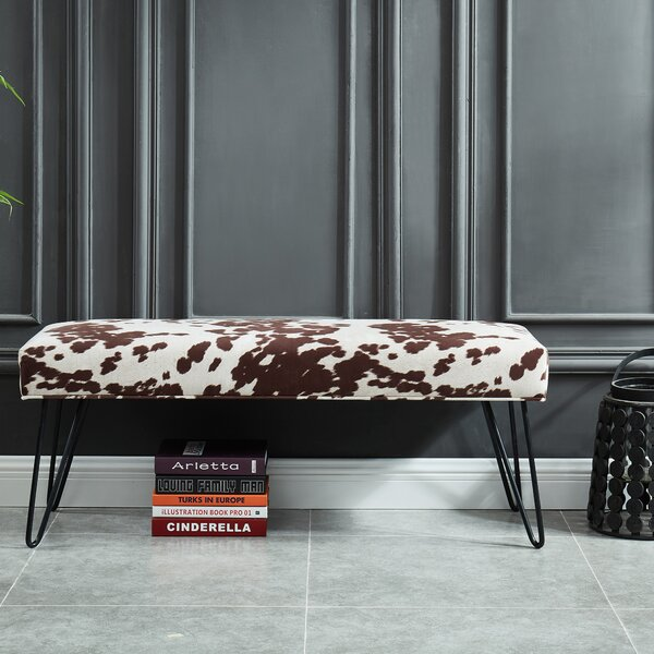 Maelys Upholstered Bench by Union Rustic