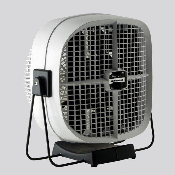 10 Oscillating Wall Fan by SeaBreeze Electric