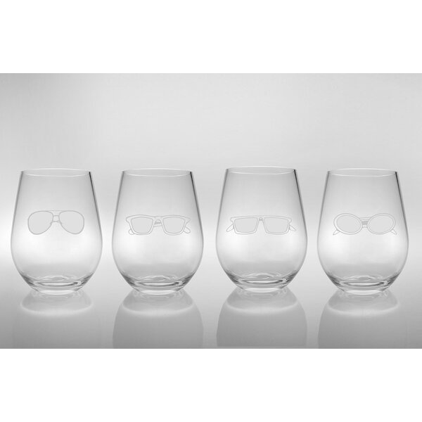 Acrylic Four Shades of Summer Tumbler (Set of 4) by Rolf Glass