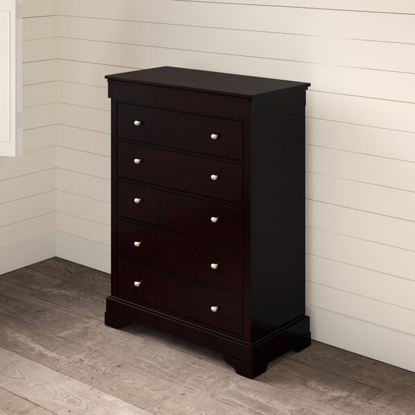 McLelland 5 Drawer Standard Dresser/Chest by Alcott Hill