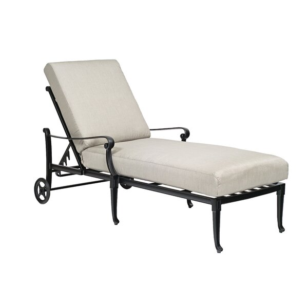 Wiltshire Adjustable Chaise Lounge by Woodard
