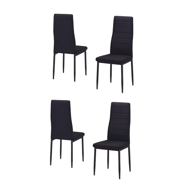 Nuttall Upholstered Dining Chair (Set of 4) by Ebern Designs