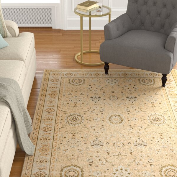 Lavelle Ivory Area Rug by Charlton Home