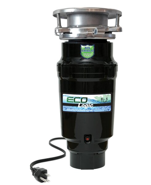 1/2 HP Continuous Feed Garbage Disposal by Eco Logic
