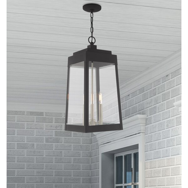 Mamie 3-Light Outdoor Hanging Latern by Canora Grey