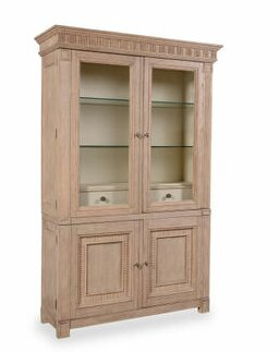 Augill Lighted China Cabinet by Darby Home Co