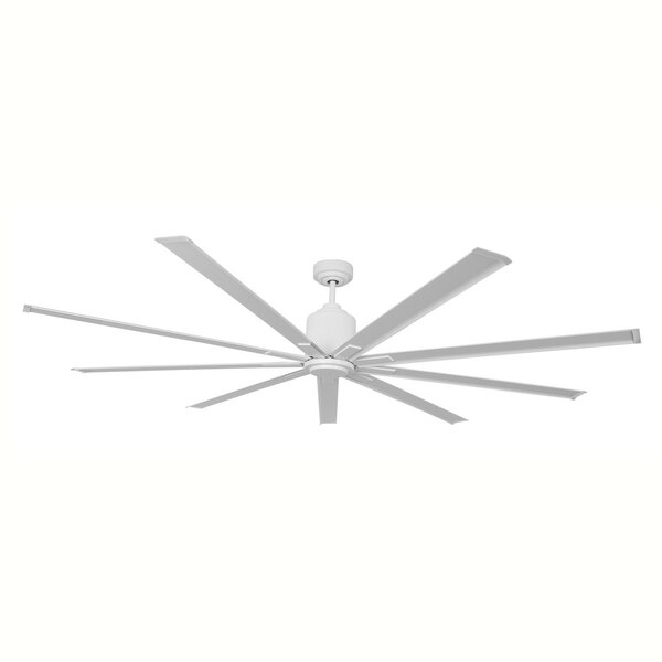 96 9 Blades Outdoor Ceiling Fan with Remote by Symple Stuff