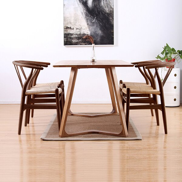 Burgher Solid Wood Dining Chair by Union Rustic