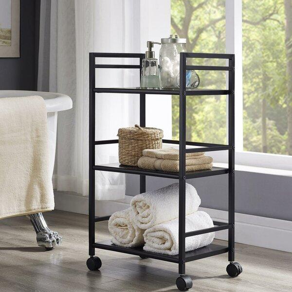 Marshall Three Shelf Rolling Utility Cart by Altra Furniture