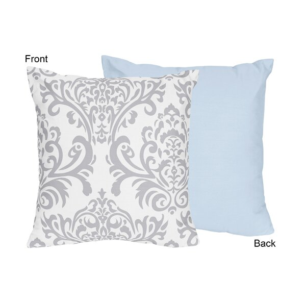 Avery Cotton Throw Pillow by Sweet Jojo Designs