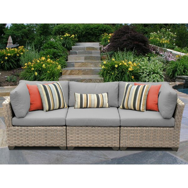 Rochford Patio Sofa with Cushions by Sol 72 Outdoor